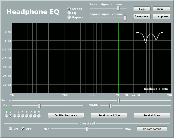 MathAudio Headphone EQ