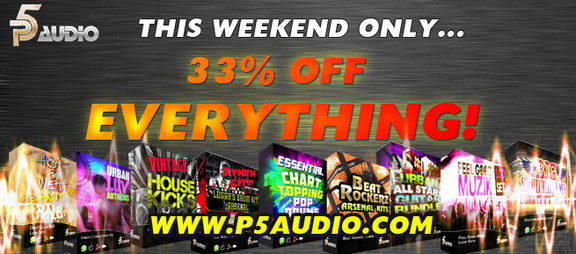 P5Audio Summer Sale