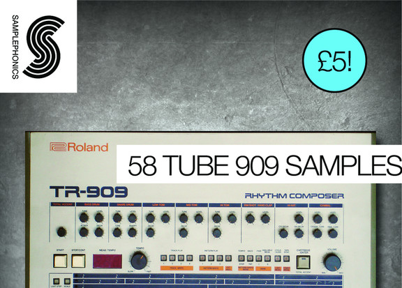 Samplephonics 58 Tube 909 Samples