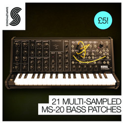 Samplesphonics 21 Multi-Samples MS-20 Bass Patches
