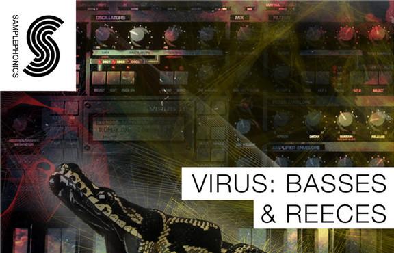 Samplephonics Virus: Basses & Reeces