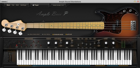 Ample Sound Ample Bass P