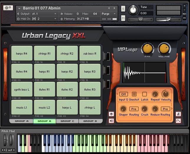VIP Loops Urban Legacy XXL