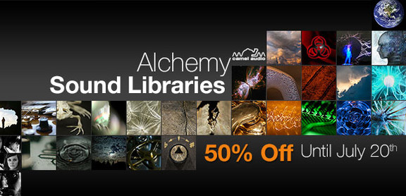 Alchemy Libraries 50% off