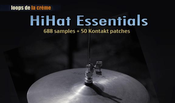 Loops de la Crème HiHat Essentials