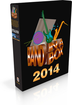 PG Music Band-in-a-Box 2014