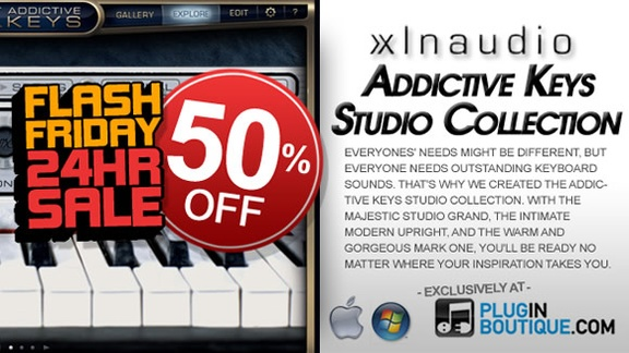 XLN Audio Addictive Keys Studio Collection
