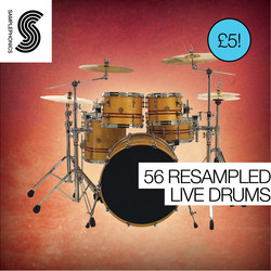 Samplephonics 56 Resampled Live Drums