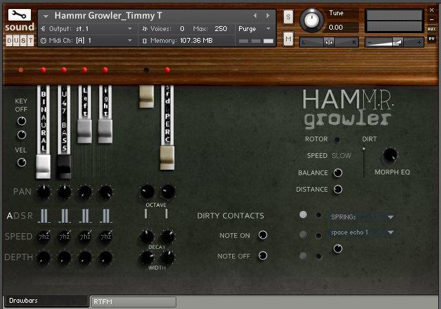 Sound Dust Hammr Growler