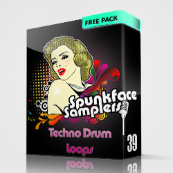 SPF Techno Drum Loops
