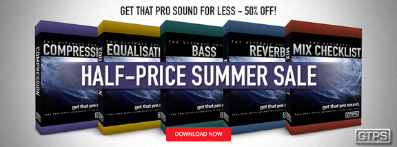 Get That Pro Sound Summer Sale
