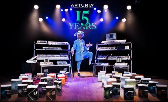 Arturia 15 Years