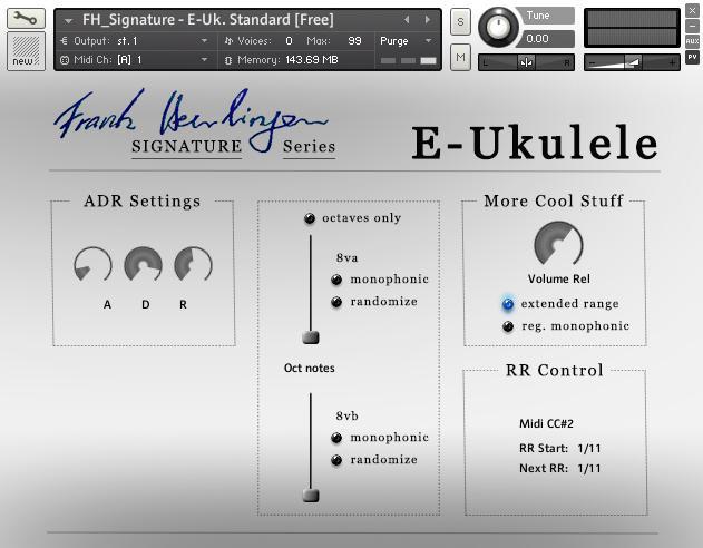 Audiowiesel E-Ukulele