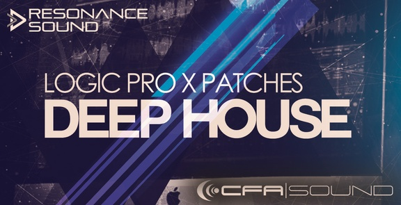 CFA-Sound Logic Pro X Deep House Patches