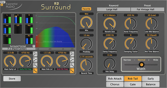 Exponential Audio R2 Surround Reverb
