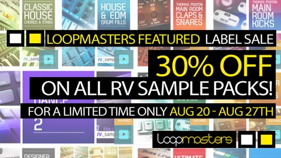 rv_samplepacks sale 30% off
