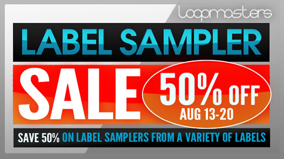 Label Sampler Sale