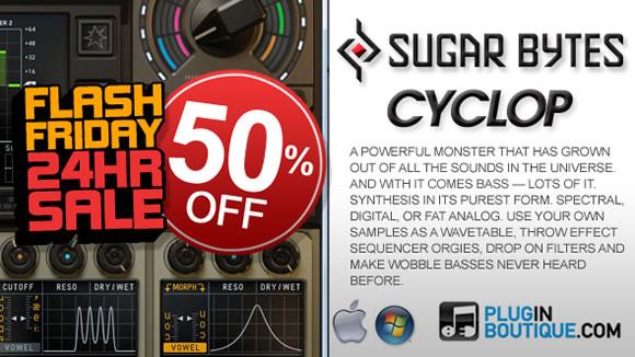 Sugar Bytes Cyclop 50% off
