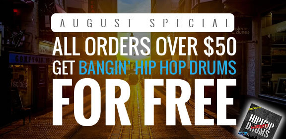 Roqstar Bangin' Hip Hop Drums offer