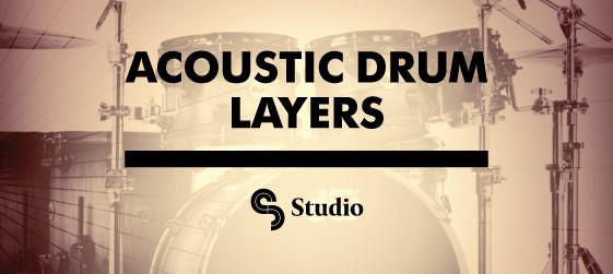 Sample Magic Acoustic Drum Layers