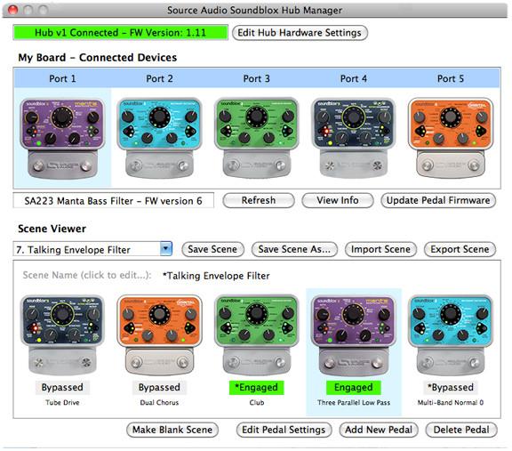 Source Audio Soundblox Hub Manager