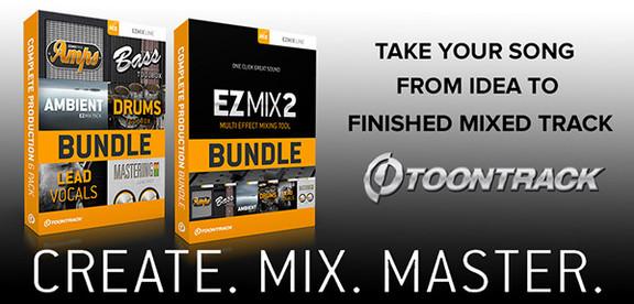 Toontrack EZmix 2 bundles