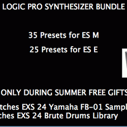 TW-Sounds Logic Pro Synthesizer Bundle