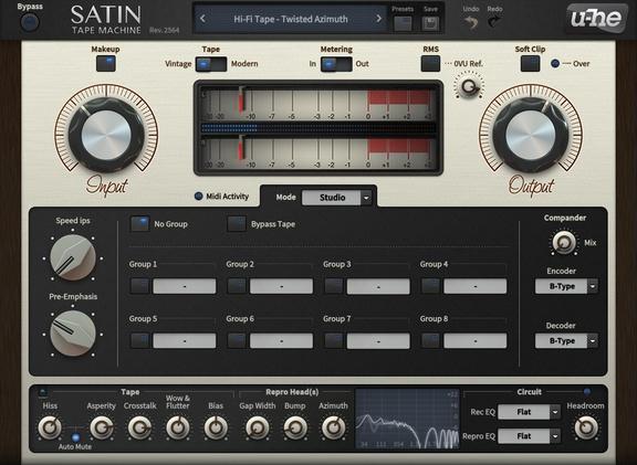 u-he Satin 1.2 RC5