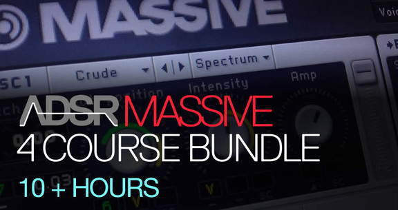 ADSR Massive 4 Course Bundle