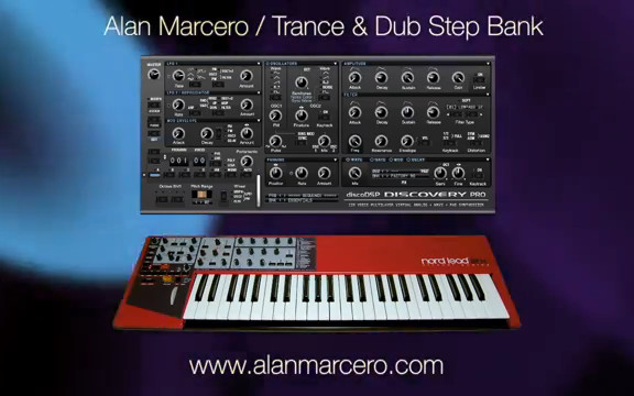Alan Marcero Nord Lead 2X/2 Trance / Dubstep Patches