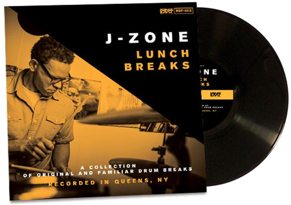 J-Zone Drum Breaks 12-inch Vinyl