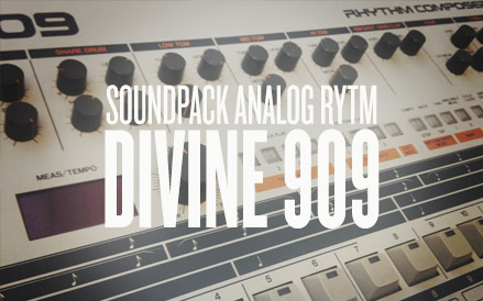 Elektron Divine 909 for Analog Rytm