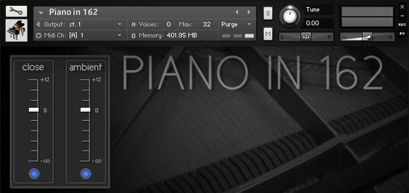Ivy Audio Piano in 162