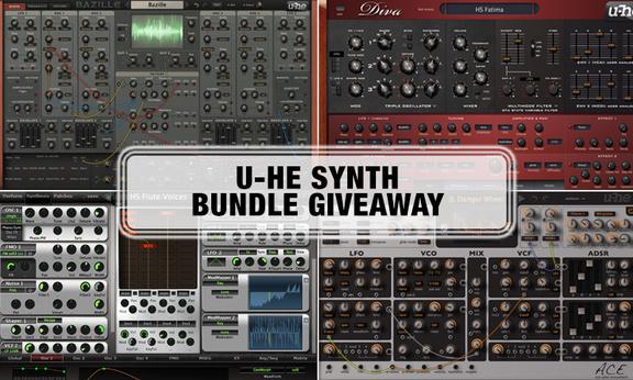 u-he Synth Bundle Giveaway