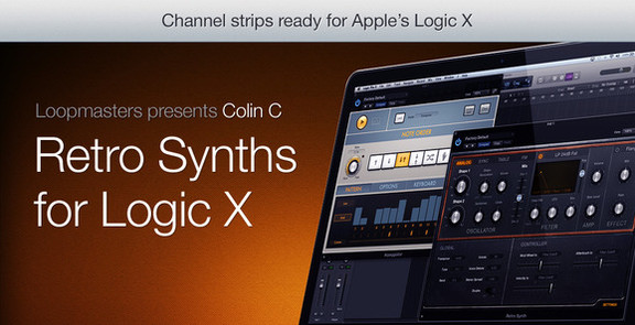 Colin C Retro Synths for Logic X