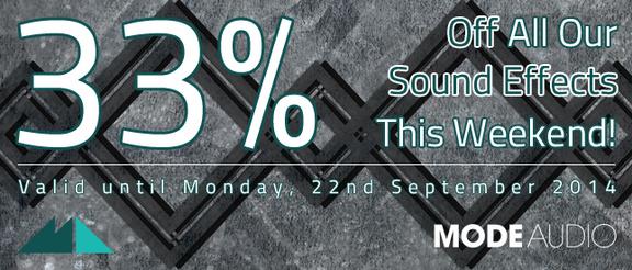 ModeAudio SFX Sale