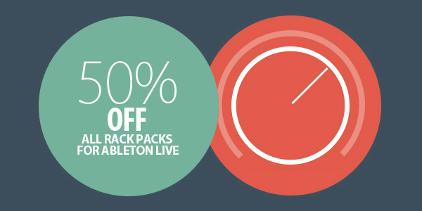50% off Ableton Live Packs