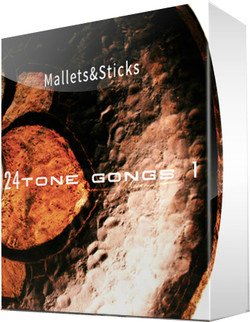 NoiseGuild 24ToneGongs 1: Mallets&Sticks