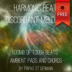 Papas St Germain Harmonic Beats, Discordant Melodies