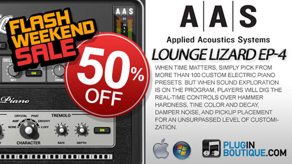 50% off AAS Lounge Lizard EP-4
