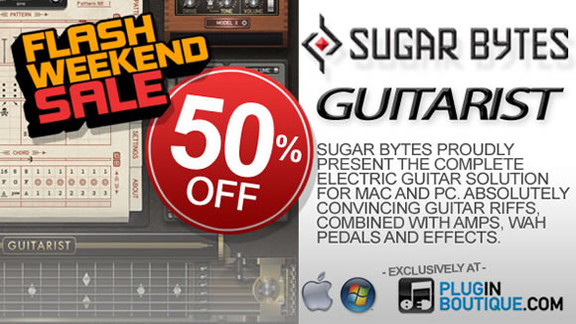 50% off Sugar Bytes Guitarist