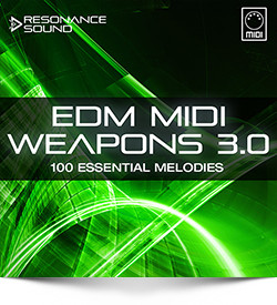 Resonance Sound EDM MIDI Weapons 3.0