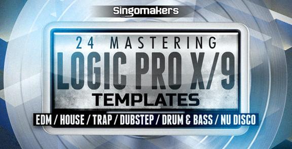 24 Mastering Logic Pro 9/X Templates