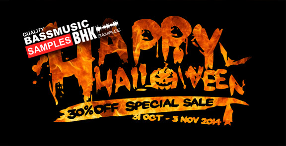 BHK Samples Halloween Sale
