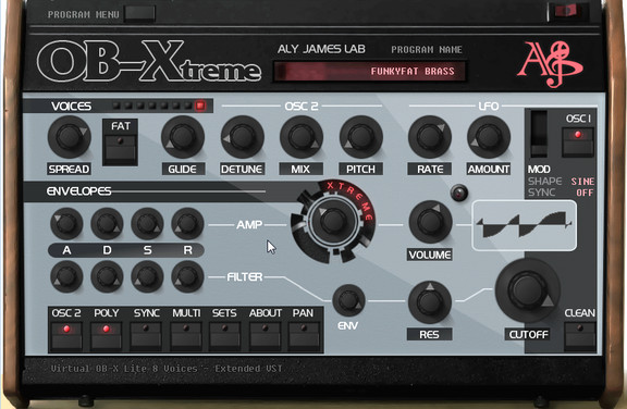 Aly James Lab OB-Xtreme