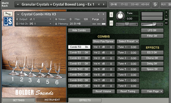 Bolder Sounds Crystal Glasses V3