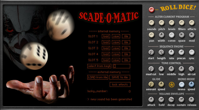 Fairly Confusing Scape-O-Matic for Kontakt