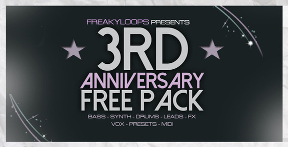 Freaky Loops 3rd Anniversary Free Pack