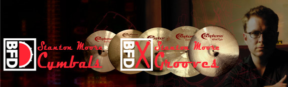 FXpansion Stanton Moore Cymbals & Grooves