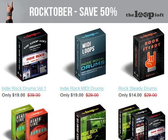 The Loop Loft Rocktober Sale
